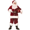 Deluxe Crimson Santa Suit Standard Red